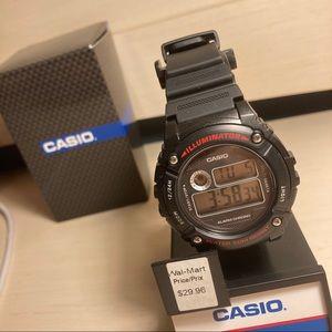 CASIO Black Watch
